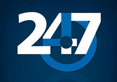 Resultado de imagem para 247 logomarca