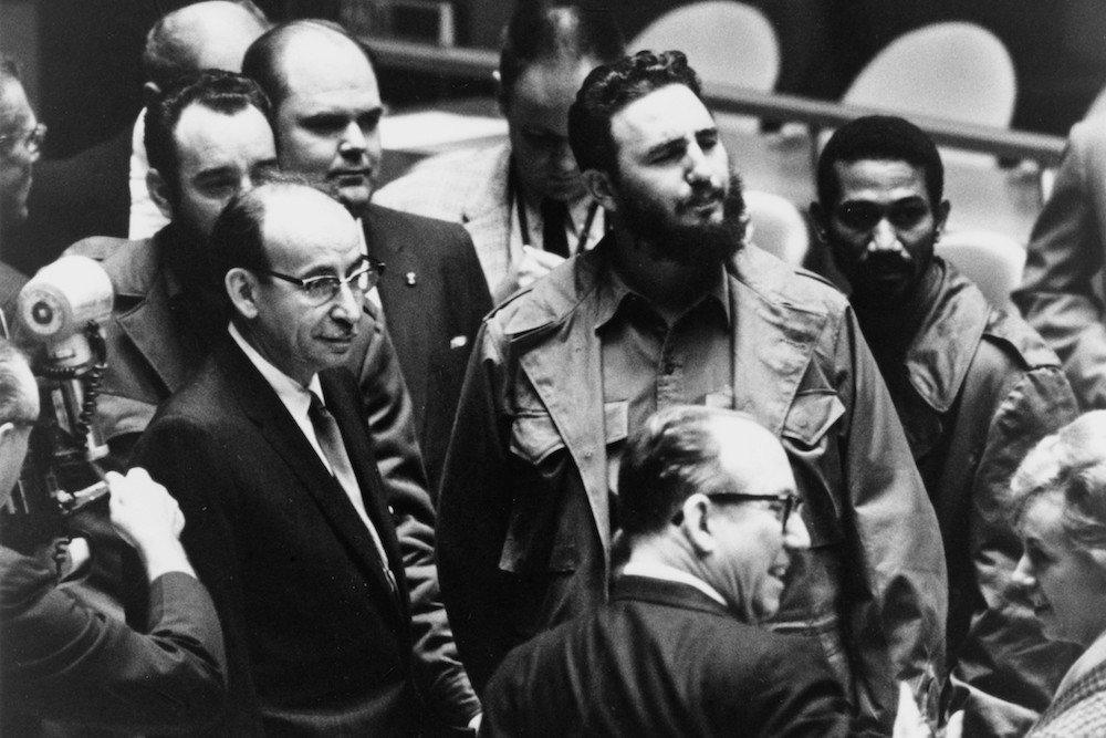 O dia em que Fidel Castro encontrou Malcolm X - Vermelho